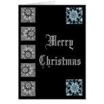 tarjeta del fractal del navidad