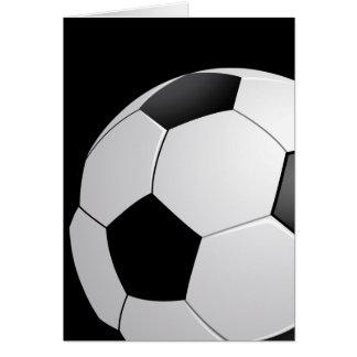 Tarjeta del fútbol del fútbol