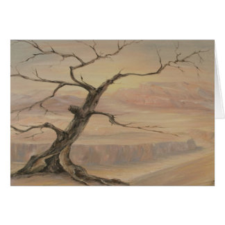 Tarjeta del gancho del árbol