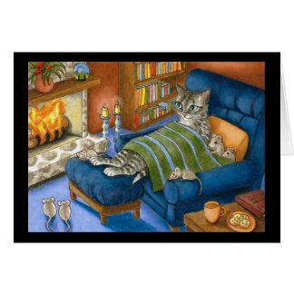 tarjeta del gato 459