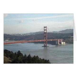 Tarjeta del Golden Gate