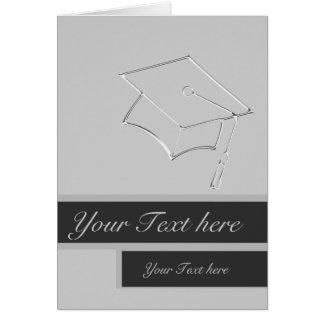 Tarjeta del graduado