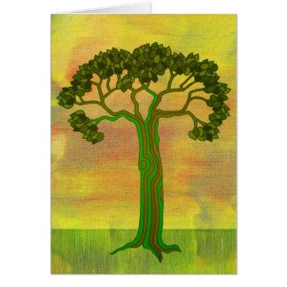 tarjeta del greentree