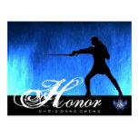 Tarjeta del Honor-Poste Postales