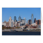 Tarjeta del horizonte de Philadelphia
