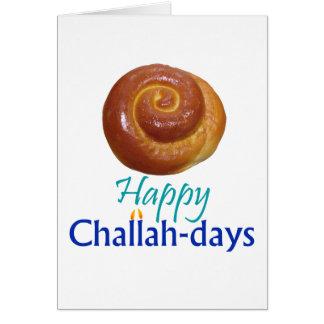 tarjeta del Jalá-día