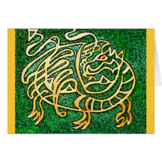 Tarjeta del laberinto del dragón