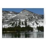 Tarjeta del lago I snowy Tenaya