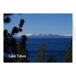 Tarjeta del lago Tahoe California
