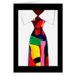 """Tarjeta del """"lazo abstracto"""" de Alicia L. McDaniel"""