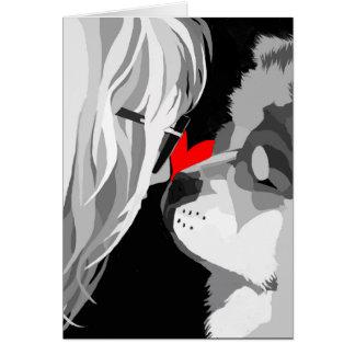 tarjeta del logotipo del heARTdog