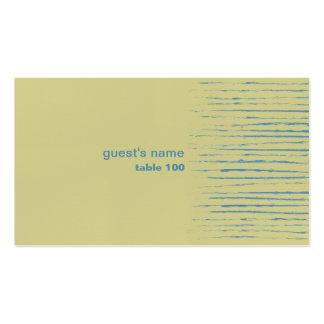 Tarjeta del lugar de la primavera tarjetas de visita