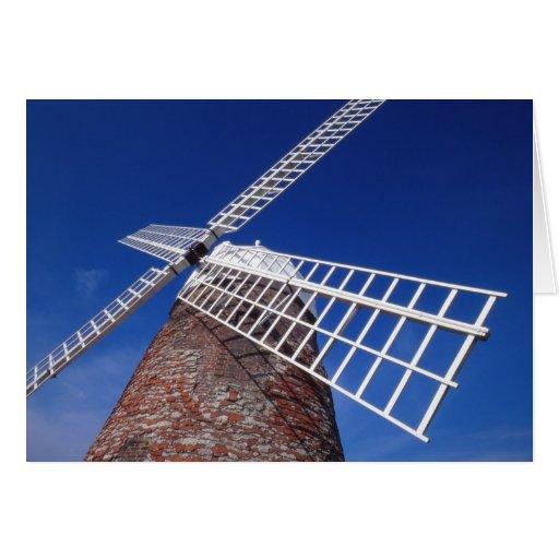 Tarjeta del molino de viento de Halnaker