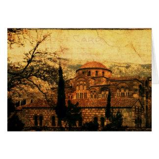 Tarjeta del monasterio del St Lukes