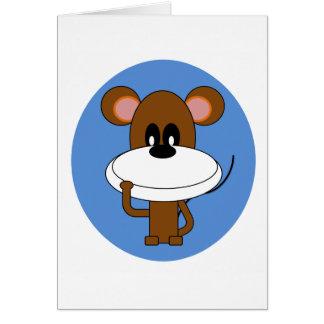 Tarjeta del mono