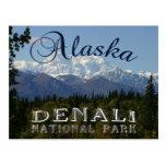 Tarjeta del monte McKinley del parque nacional de  Postales