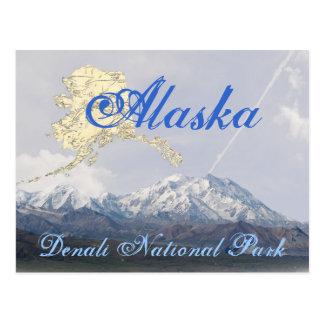 Tarjeta del monte McKinley del parque nacional de Postal