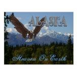 Tarjeta del monte McKinley del parque nacional de  Tarjetas Postales