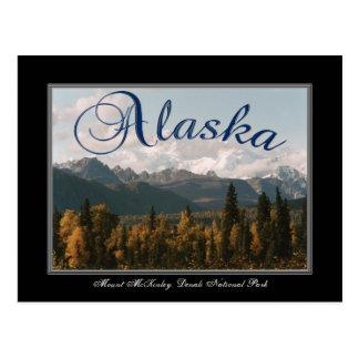 Tarjeta del monte McKinley del parque nacional de Tarjeta Postal