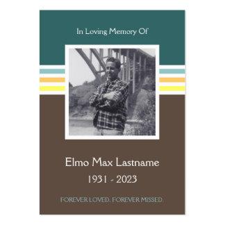tarjeta del monumento de la MOD Tarjetas De Visita Grandes