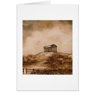 Tarjeta del monumento de Penshaw