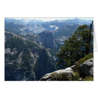 Tarjeta del Mountain View de Yosemite