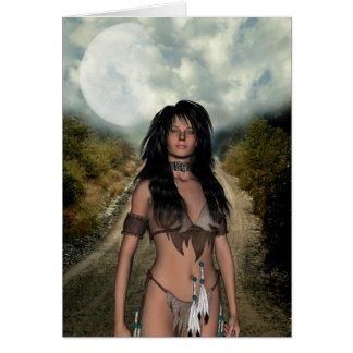 Tarjeta del nativo americano