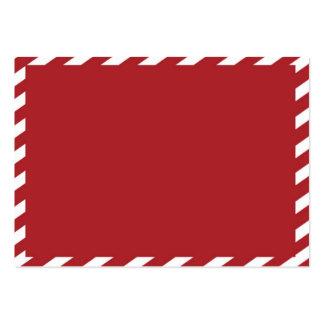¡Tarjeta del navidad 3.5x2.5! Tarjetas De Negocios