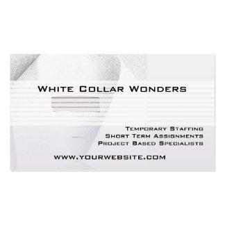 Tarjeta del negocio de representación del empleo n plantillas de tarjeta de negocio