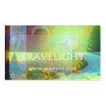 Tarjeta del negocio de representación del viaje de tarjeta de visita