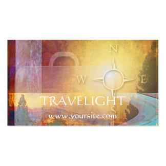 Tarjeta del negocio de representación del viaje de tarjetas de visita