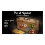 Tarjeta del negocio de representación del viaje tarjeta de negocio