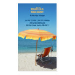 Tarjeta del negocio de representación del viaje tarjeta de visita
