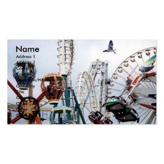 Tarjeta del negocio/del perfil del embarcadero de tarjeta personal