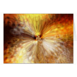 Tarjeta del ojo del extracto del fuego de Phoenix