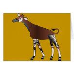 Tarjeta del Okapi
