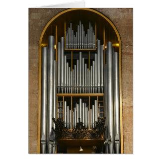 Tarjeta del órgano de Basilika del Trier