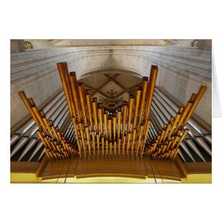 Tarjeta del órgano de Ulm Munster
