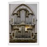 Tarjeta del órgano del St Maria de Klosterkirche