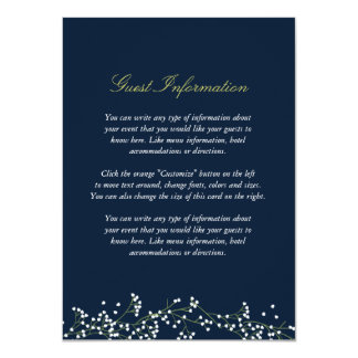 Tarjeta del parte movible del boda de la invitación 11,4 x 15,8 cm