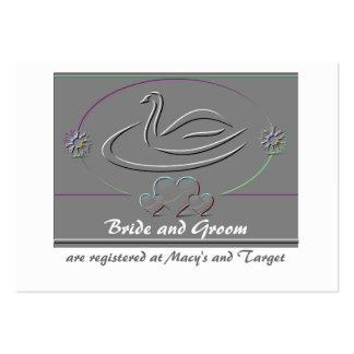 Tarjeta del parte movible del registro de la ducha tarjeta personal