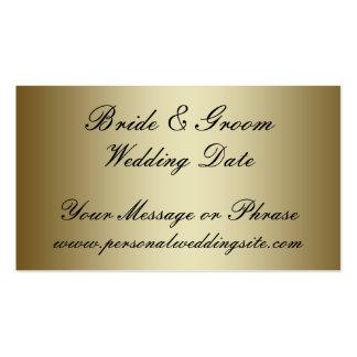Tarjeta del parte movible del Web site del boda de Tarjetas De Visita