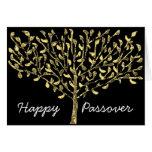 Tarjeta del Passover del árbol de la hoja de oro
