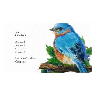 Tarjeta del perfil - Bluebird Tarjetas De Visita