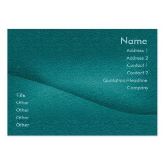 Tarjeta del perfil de la balanza tarjetas de visita grandes
