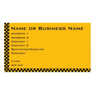 Tarjeta del perfil de la empresa de servicios del tarjetas de visita