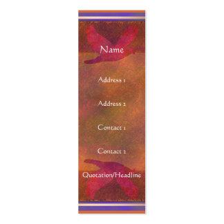 Tarjeta del perfil de la tarjeta del perfil del su plantillas de tarjeta de negocio