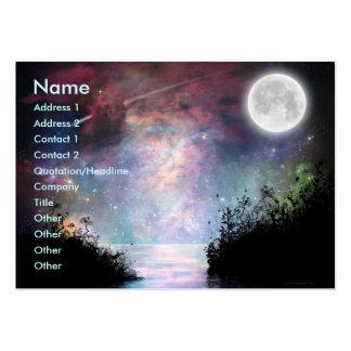 Tarjeta del perfil de los sueños Print_1 Plantillas De Tarjetas De Visita