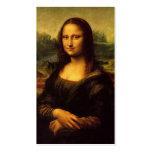 Tarjeta del perfil de Mona Lisa Tarjeta De Visita