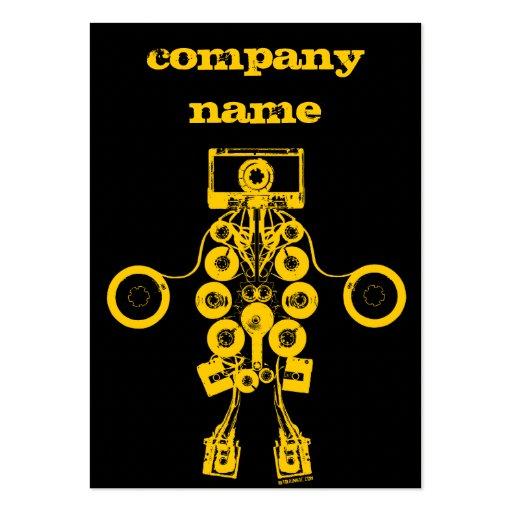 Tarjeta del perfil de Music Company - modificada p Tarjeta De Visita